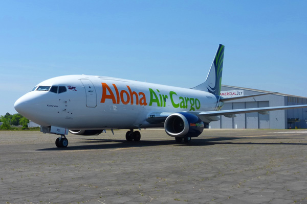 Aloha Air Cargo 737-300F N301KH (08)(Grd) HNL (AAC)(LRW)