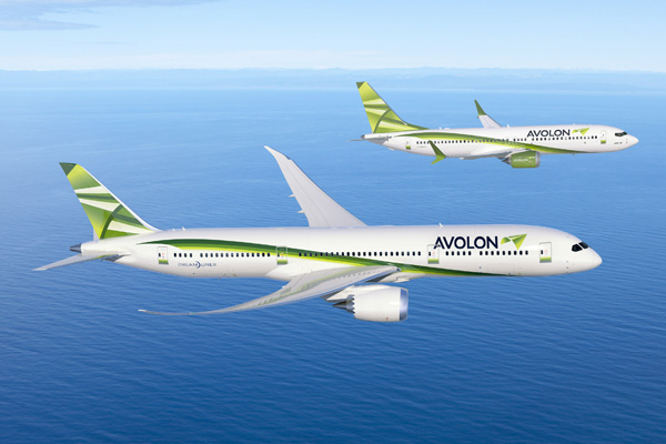 Avolon 787-9 and 737 MAX 9 (Boeing)(LRW)