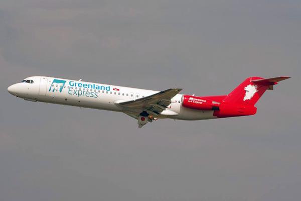 Greenland Express (Denim Air) F.28 Mk 0100 PH-MJP (14)(Tko)(Greenland Express)(LRW)