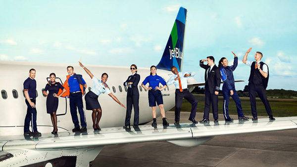 JetBlue Crew on the Wing (JetBlue)(LRW)