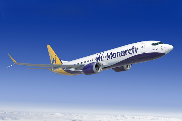 Monarch 737 MAX 8 (11)(Flt)(Boeing)(LR)