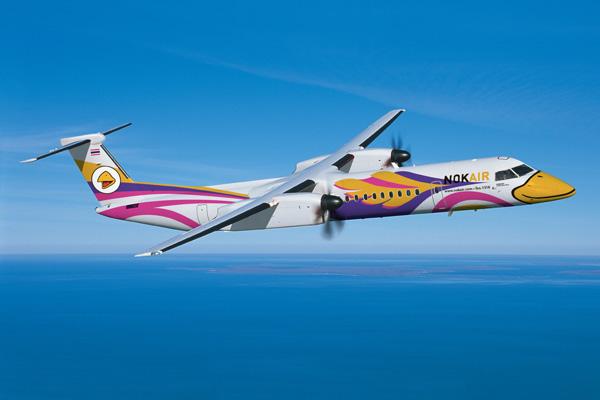 Nok Air DHC-8-400 (Flt)(Bombardier)(LRW)