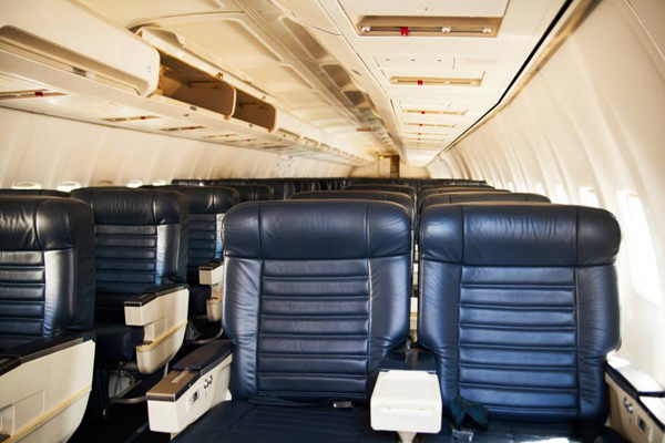 PEOPLExpress (Vision Airlines) 737-400 Cabin (Peoplexpress)(LRW)