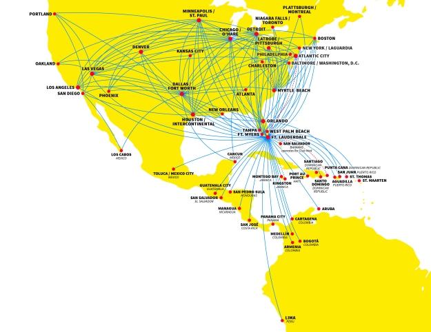 Spirit 7.2014 Route Map
