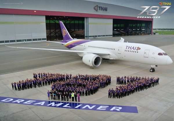 Thai 787 Dreamliner Welcome (Thai)(LRW)