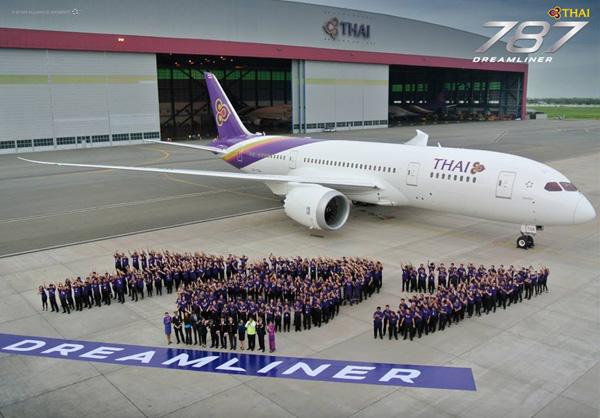 Thai 787 Dreamliner Welcome (Thai)(LRW)