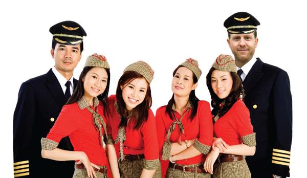 Thai Vietjet Air crew (TJA)(LRW)