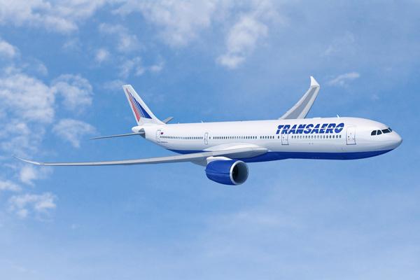 Transaero A330-900neo (03)(Flt)(Airbus)(LRW)