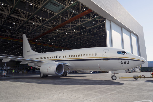 5000th NG 737 C-40A U.S. Navy Factory