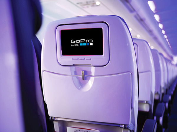 Virgin America GoPro Channel