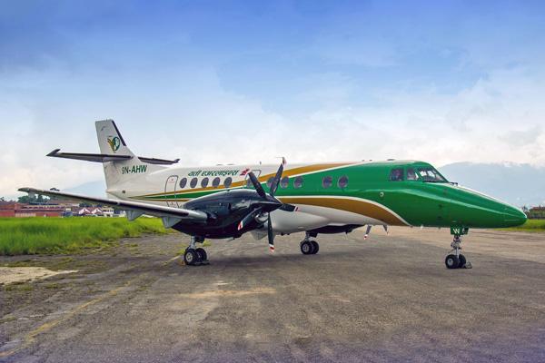 Yeti Jetstream 41 9N-AHW (14)(Grd) KTM (Aashik Pokhrel)(LRW)