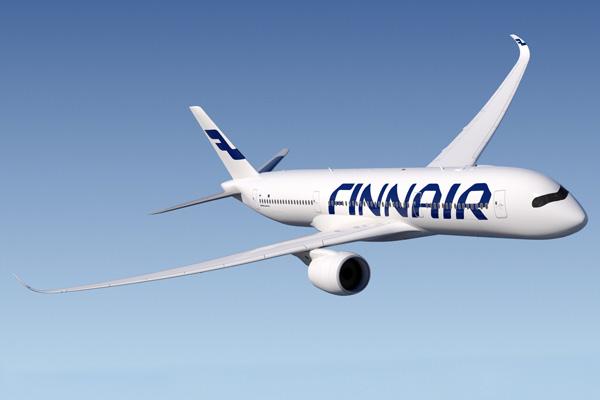 Finnair A350-900 (10)(Flt)(Airbus)(LRW)