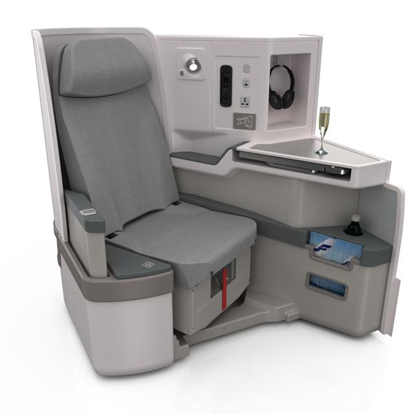 Finnair A350 Business Class seat (Finnair)(LRW)