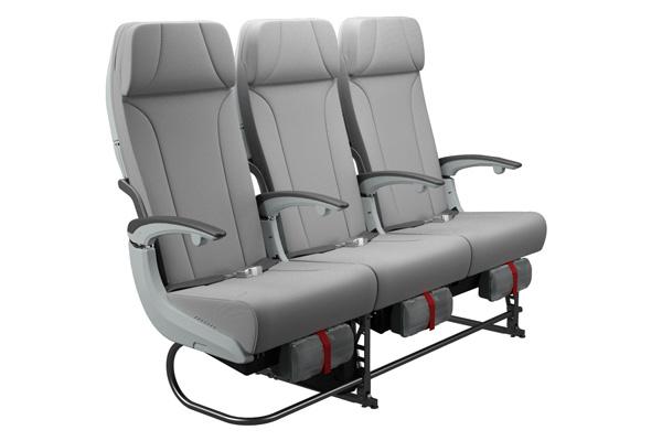 Finnair A350 Economy Class seat (Finnair)(LRW)