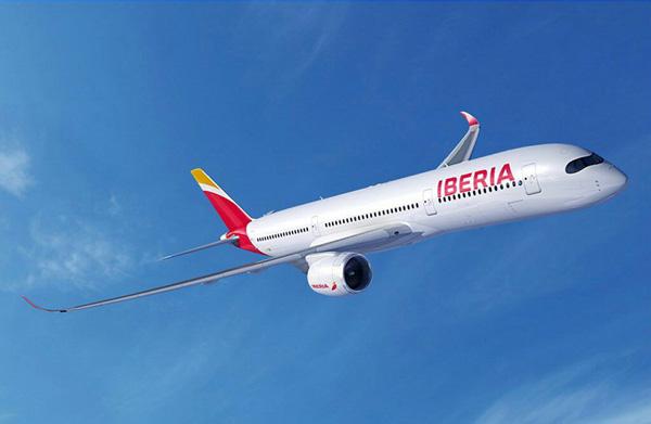 Iberia A350-900 (13)(Flt)(IAG)(LRW)