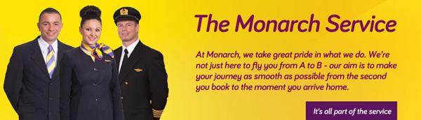 Monarch service banner