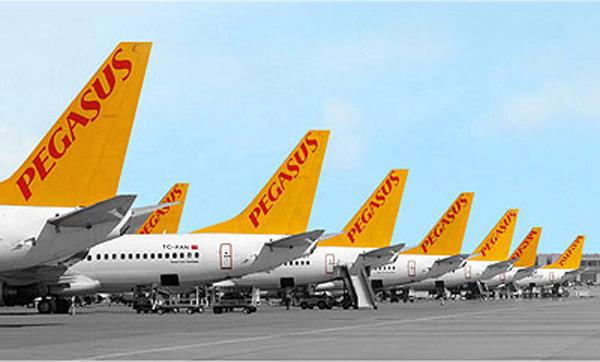 Pegasus 737-800 Tails (Pegasus)(LR)