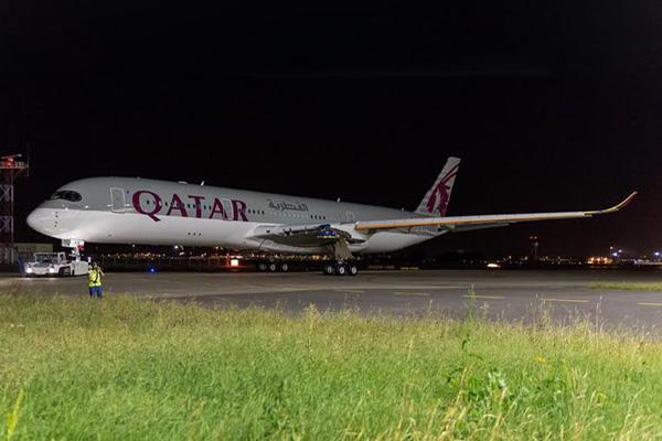 Qatar A350-900 A7-ALA (06)(Grd)(Airbus)(LRW)
