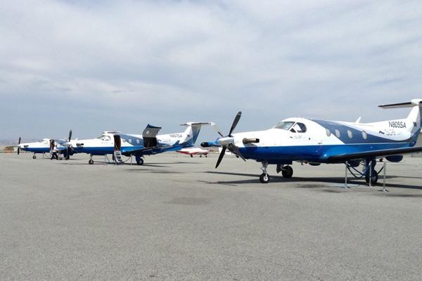 Surf Air PC-12s (LRW)