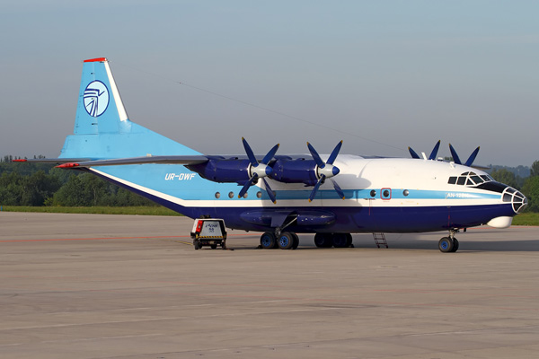 Ukraine Air Alliance An-12 UR-DWF (Grd) LGG (RBX)(LRW)