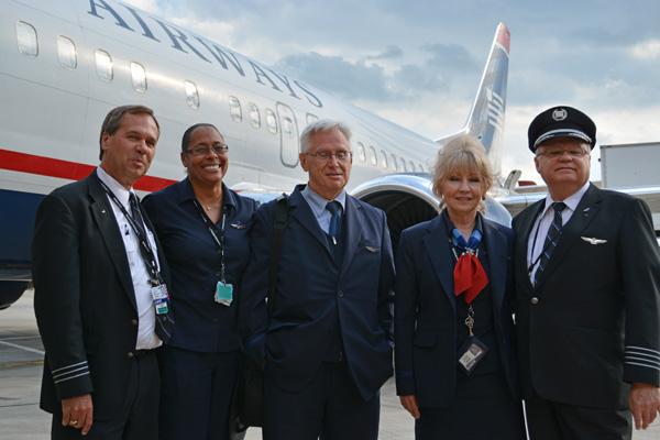 US Flt 737 Crew (JS)(LRW)