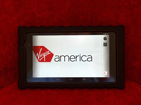 Vigin America Nexus 7 tablet (Virgin America)(LR)