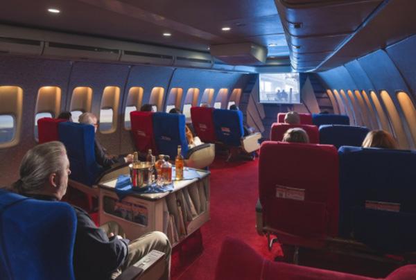 Air Hollywood Pan Am Experience cabin