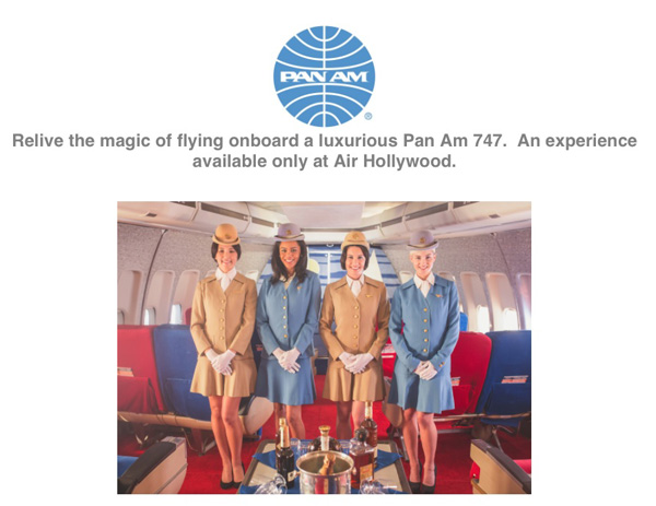 Air Hollywood Pan Am Experience photo