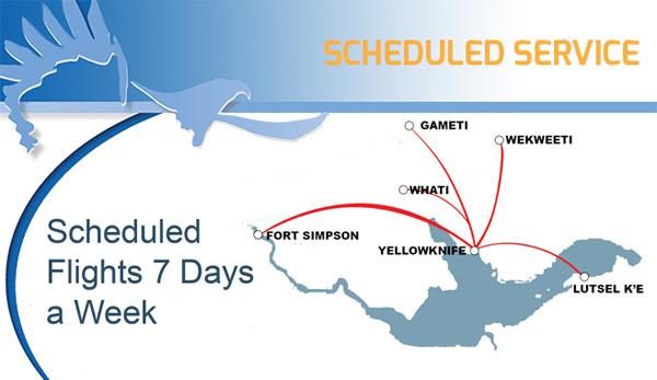 Air Tindi 9.2014 Route Map