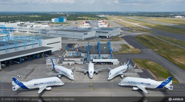 Airbus Beluga fleet (Grd) TLS (P. Pigeyre-Airbus)(LRW)