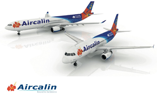 Aircalin fleet in the new look