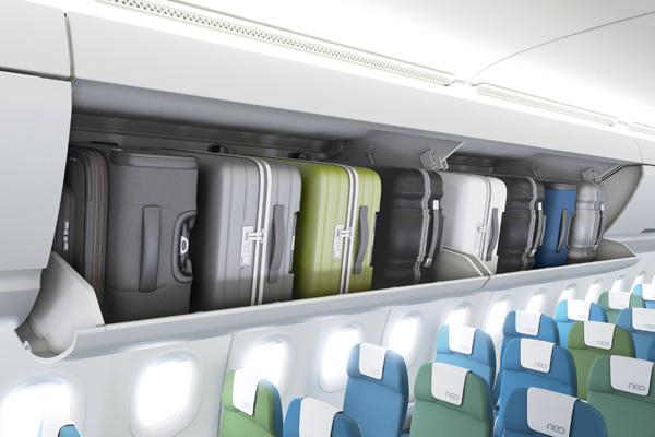 Delta A321-200 (07) overhead bag storage (Airbus)(LRW)