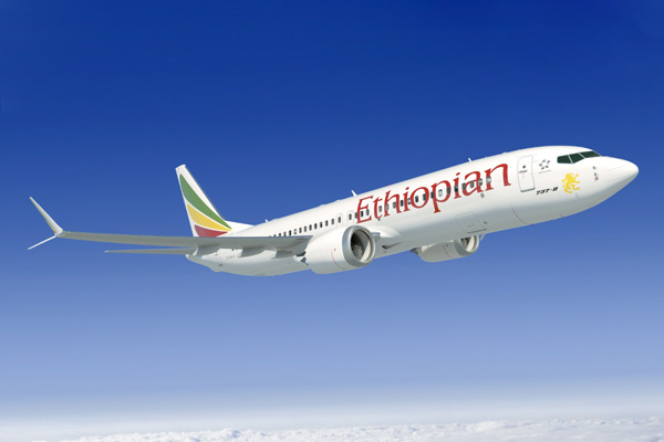 Ethiopian 737 MAX 8 (03)(Flt)(Boeing)(LRW)