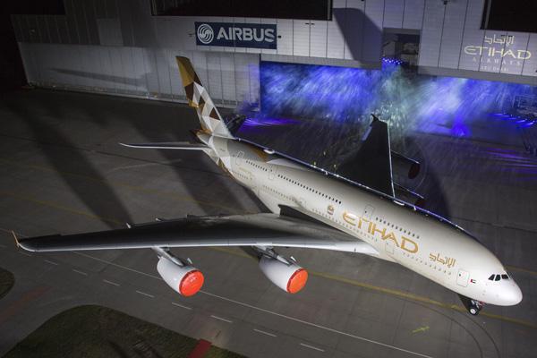 Etihad A380-800 A6-APA (14)(Grd) XFW (Airbus)(LRW)