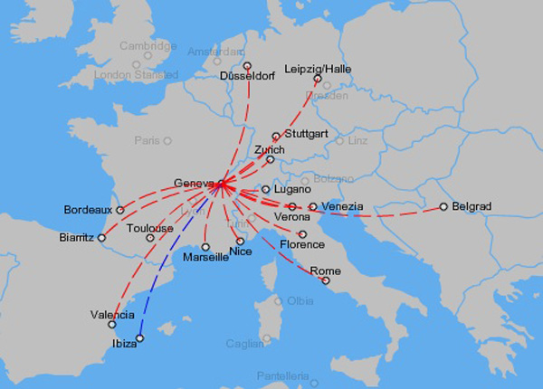 Etihad Regional 9.2014 GVA Route Map