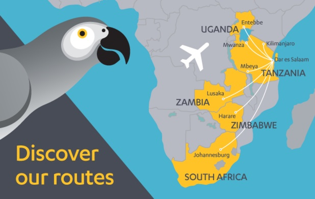 Fastjet 9.2014 Route Map
