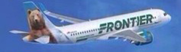 Frontier New Livery