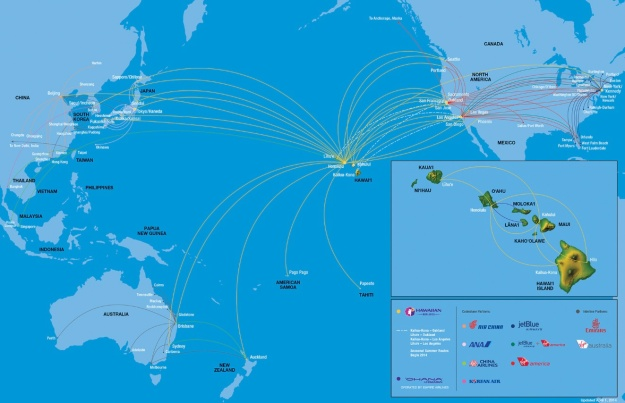 Hawaiian 9.2014 Route Map