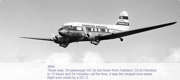 Hawaiian DC-3 (Flt)(Hawaiian)(LR)