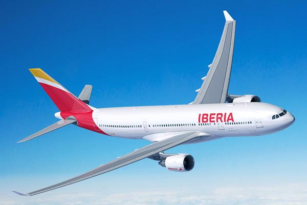 Iberia A330-200 (13)(Flt)(Airbus)(LRW)