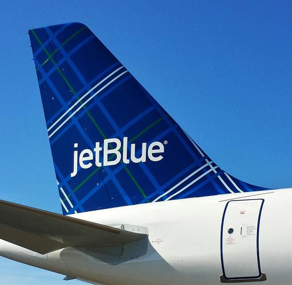 JetBlue A320-200 N565JB (14-Tartan)(Tail)(JetBlue)(LRW)