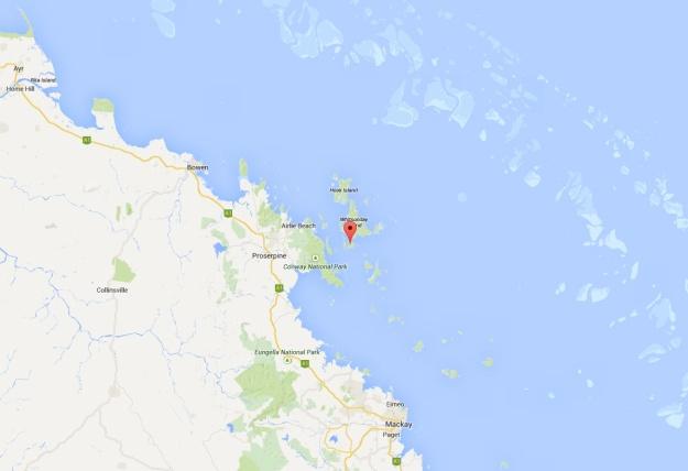Map - Hamilton Island