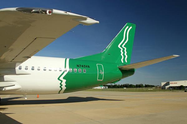 PEOPLExpress (2nd)(Vision) 737-400 N745VA (Grd)(PE)(LRW)