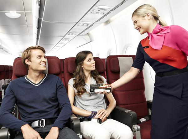 QANTAS A380 Economy Class seats (QANTAS)(LRW)