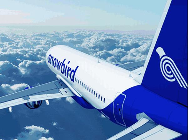Snowbird A320-200 (14)(Flt)(Snowbird)(LRW)