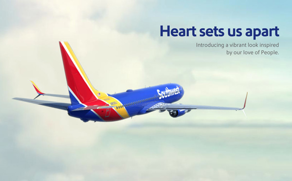 Southwest The Heart sets us apart (LRW)