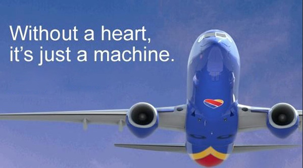 Southwest with a heart