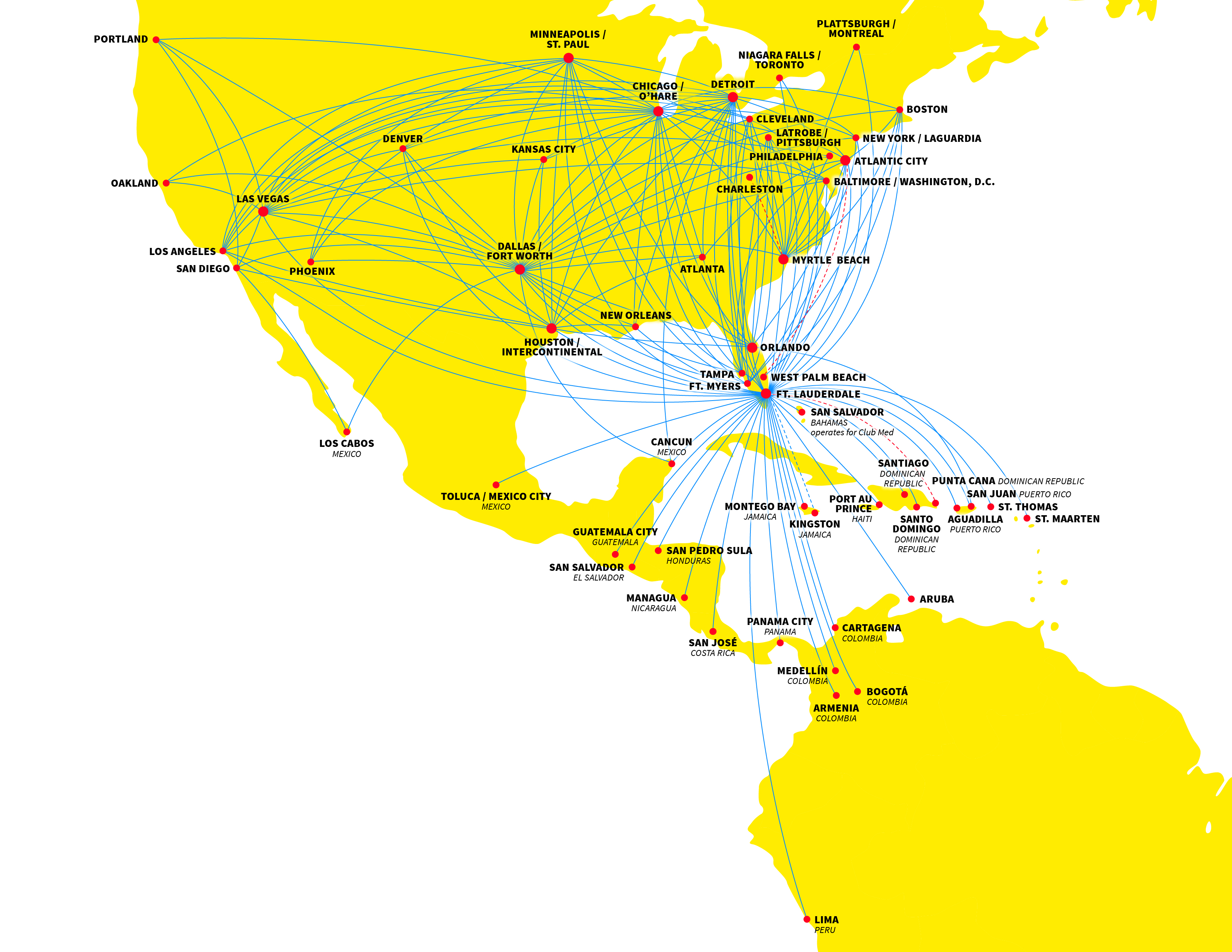 Charlotte World Airline News Philadelphia Airport Hotels Hotels - Us airways travel map