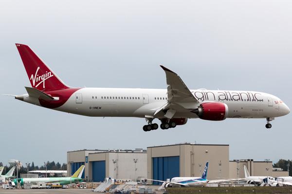 Virgin Australia 787-9 G-VNEW (10)(Ldg) PAE (DGR)(LRW)