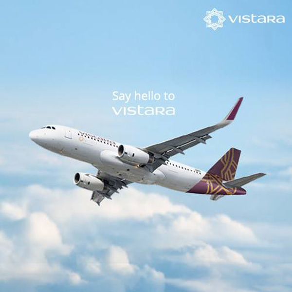 Vistara say hello